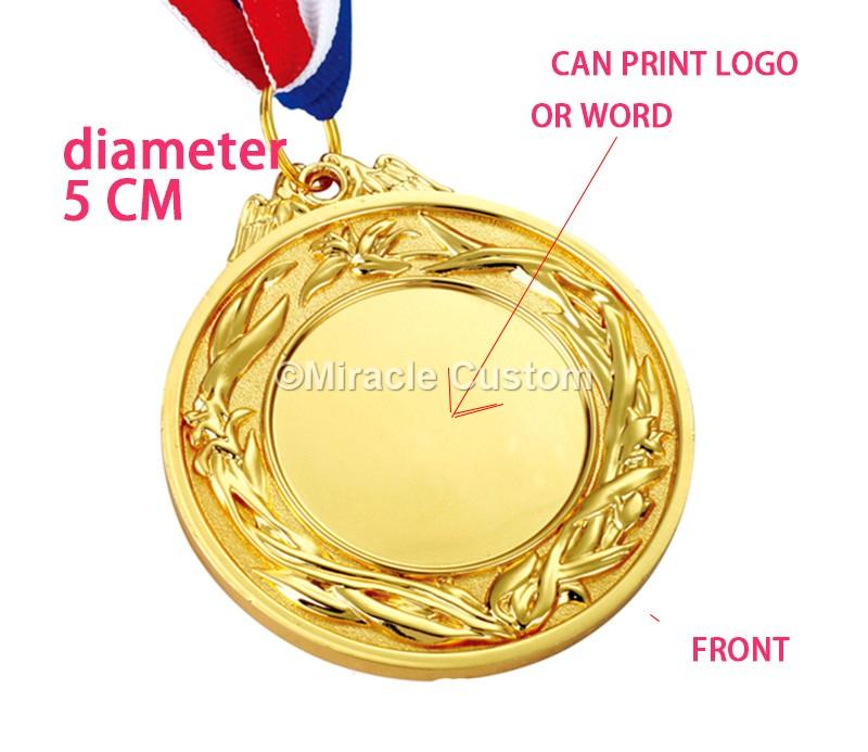 custom inserts medals