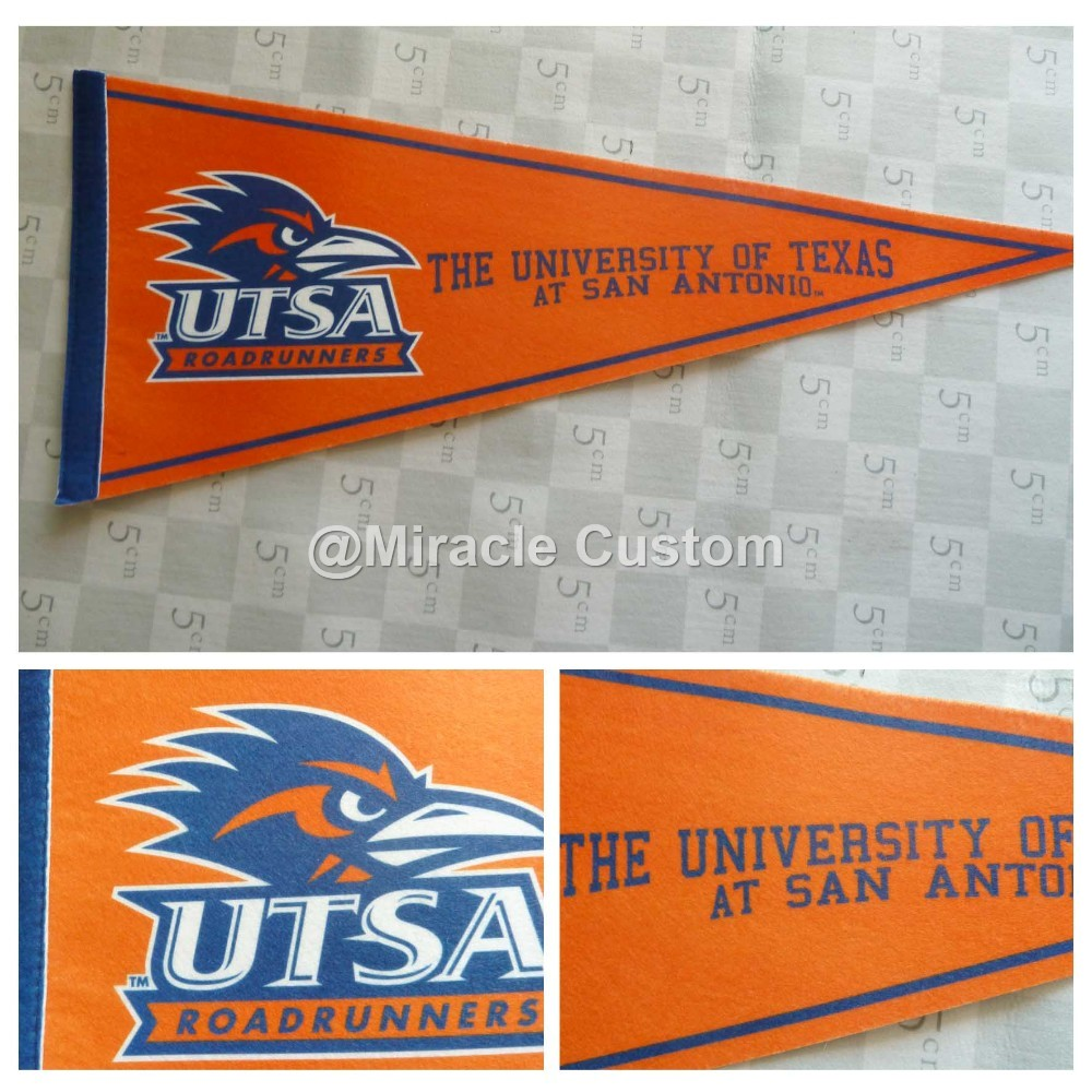 Custom Felt Pennants No Minimum