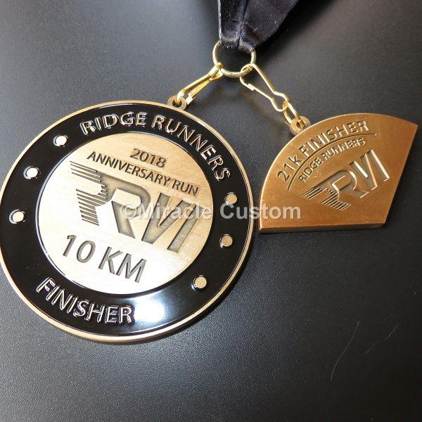 Custom Multi-Piece Race Medals