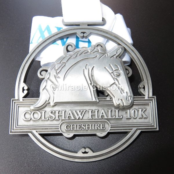 custom running 10k medals