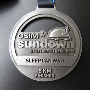 custom marathon antique hollowed out running medals