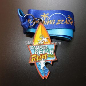 Kampung Beach Run Medals