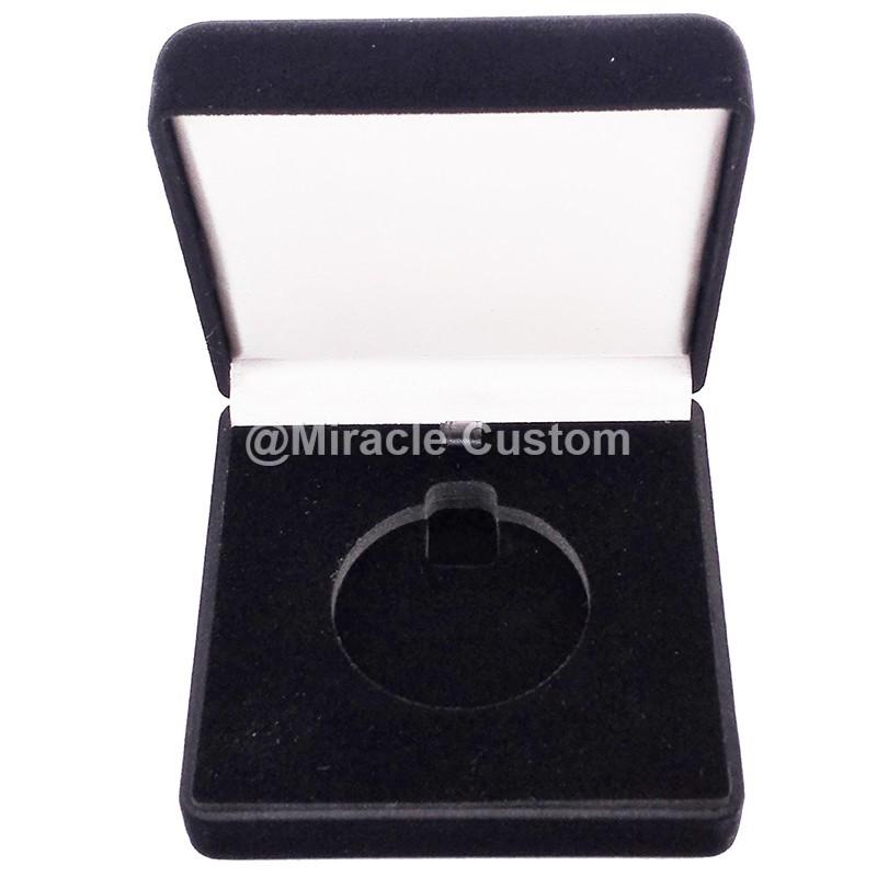 Factory custom Velvet Box for Medal Cheap Factory Price Black Medal Box