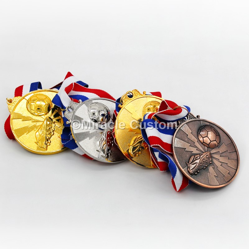 soccer sport gold metal award medals football medals