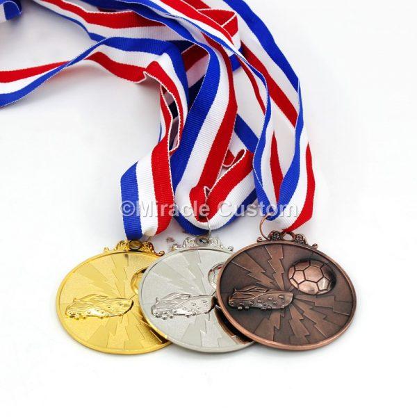 soccer sport award medals
