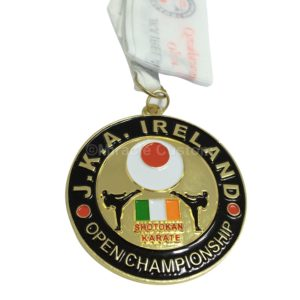 Custom Karate Medals