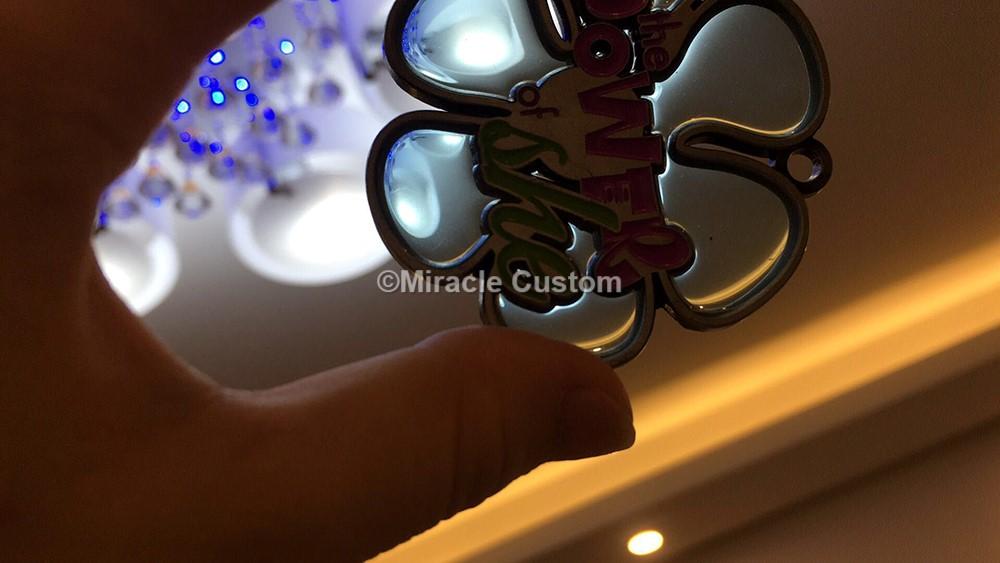 Translucent medal
