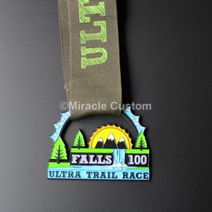 Custom Ultra Run Color Filling Medals