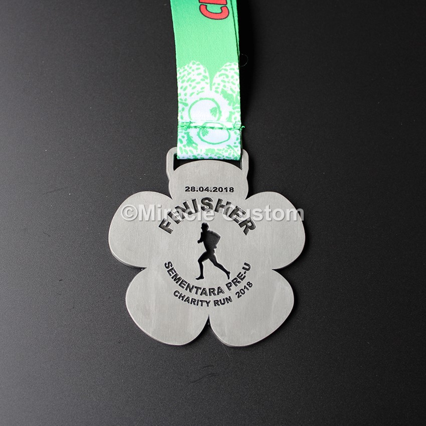 Custom Cut Outs Enamel Sports Medals