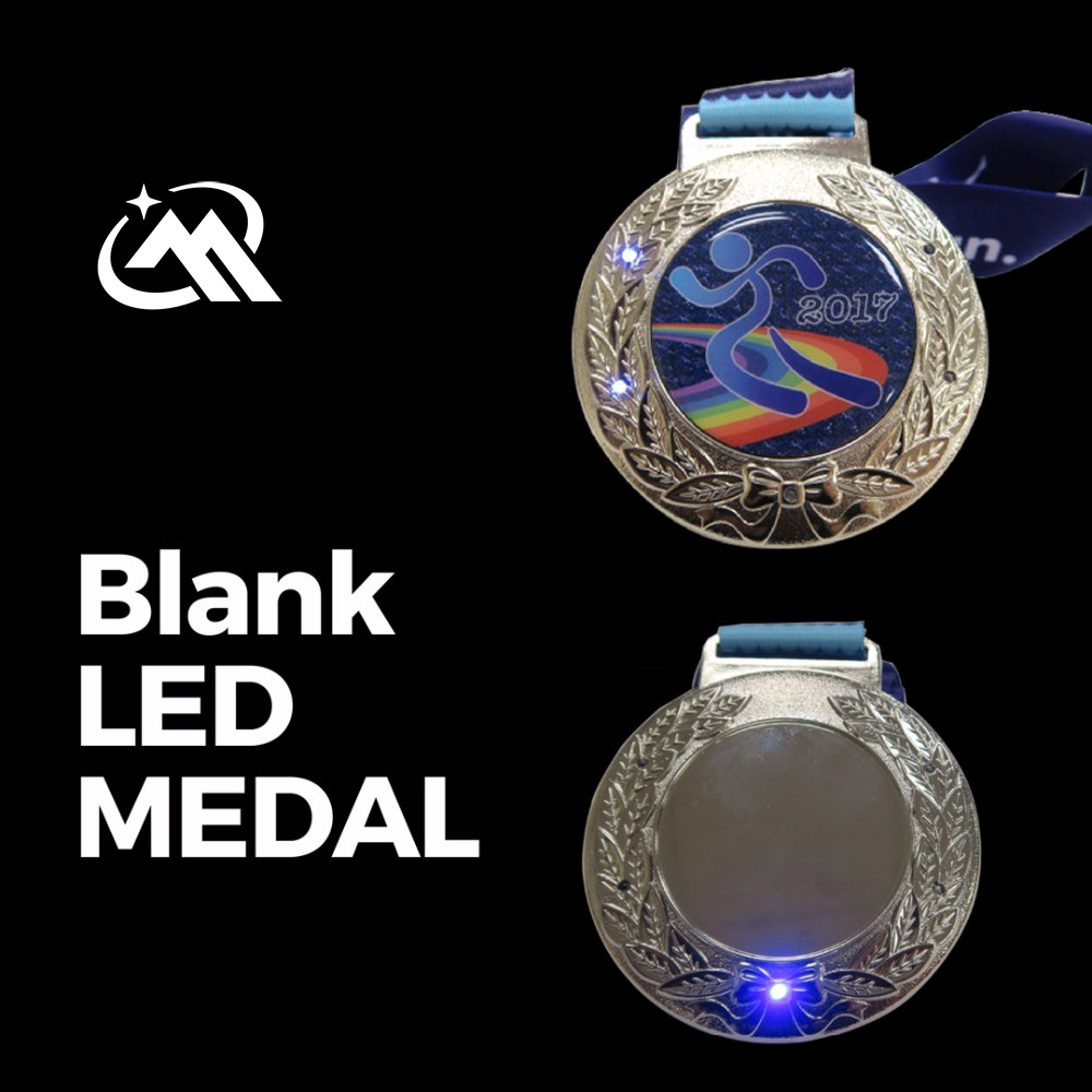 blank led medals