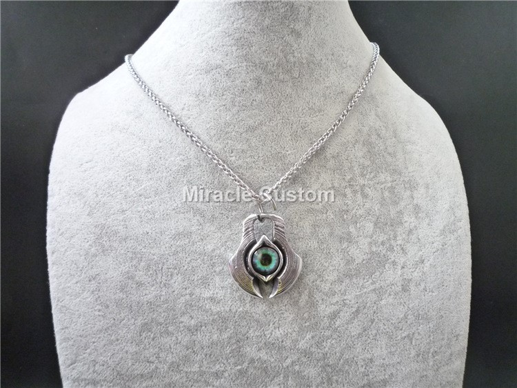 hiphop Evileye Mens Devil Stainless steel Pendant Necklace Gift