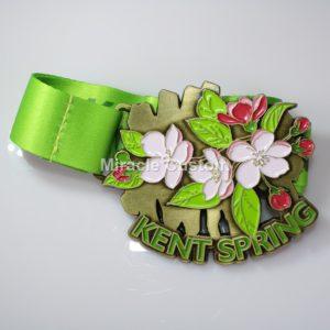 Custom Spring Marathon Medals