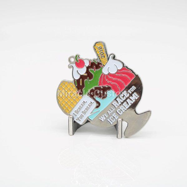 Custom Shiny Nickel Medals