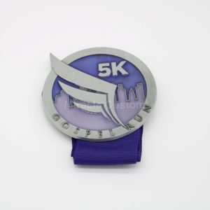 Custom Translucent 5K Race Medals