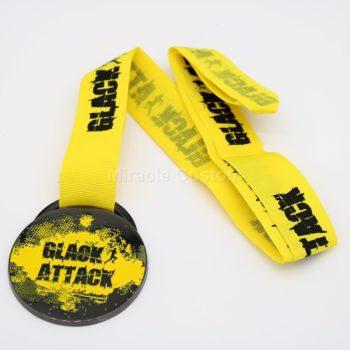 Custom Black Nickel Sports Medals
