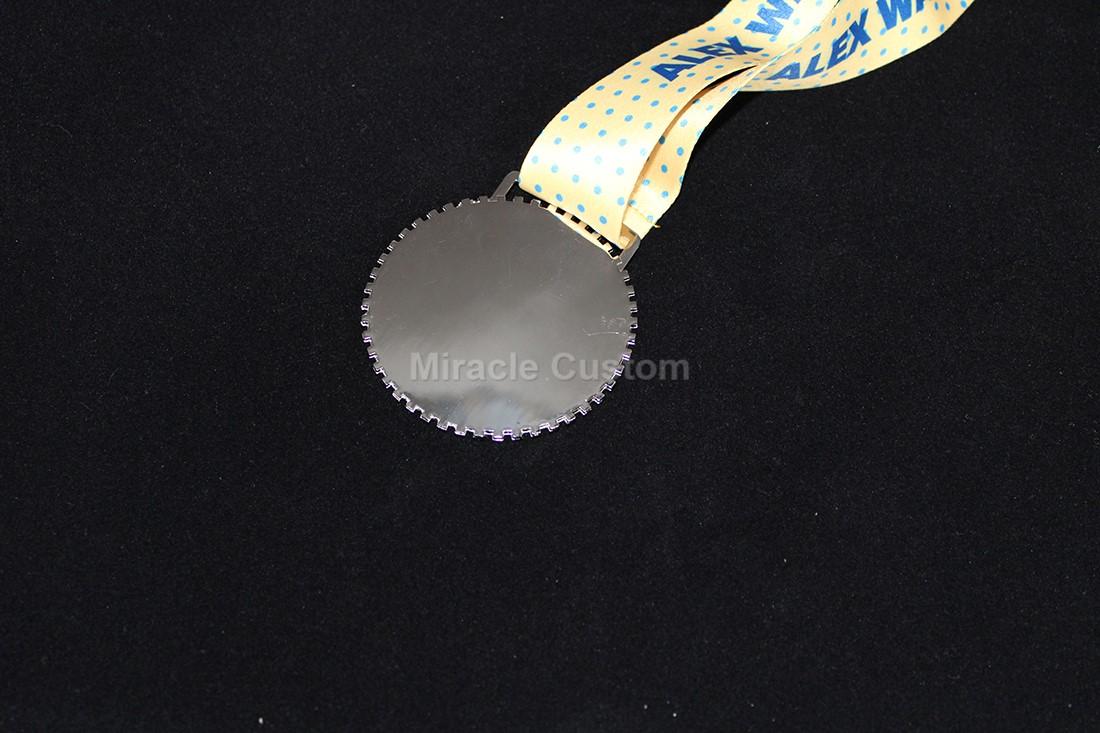 Custom Glitter Run Medals