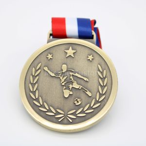 Football sport medals factory