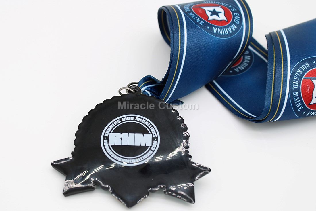 custom pvc race medals