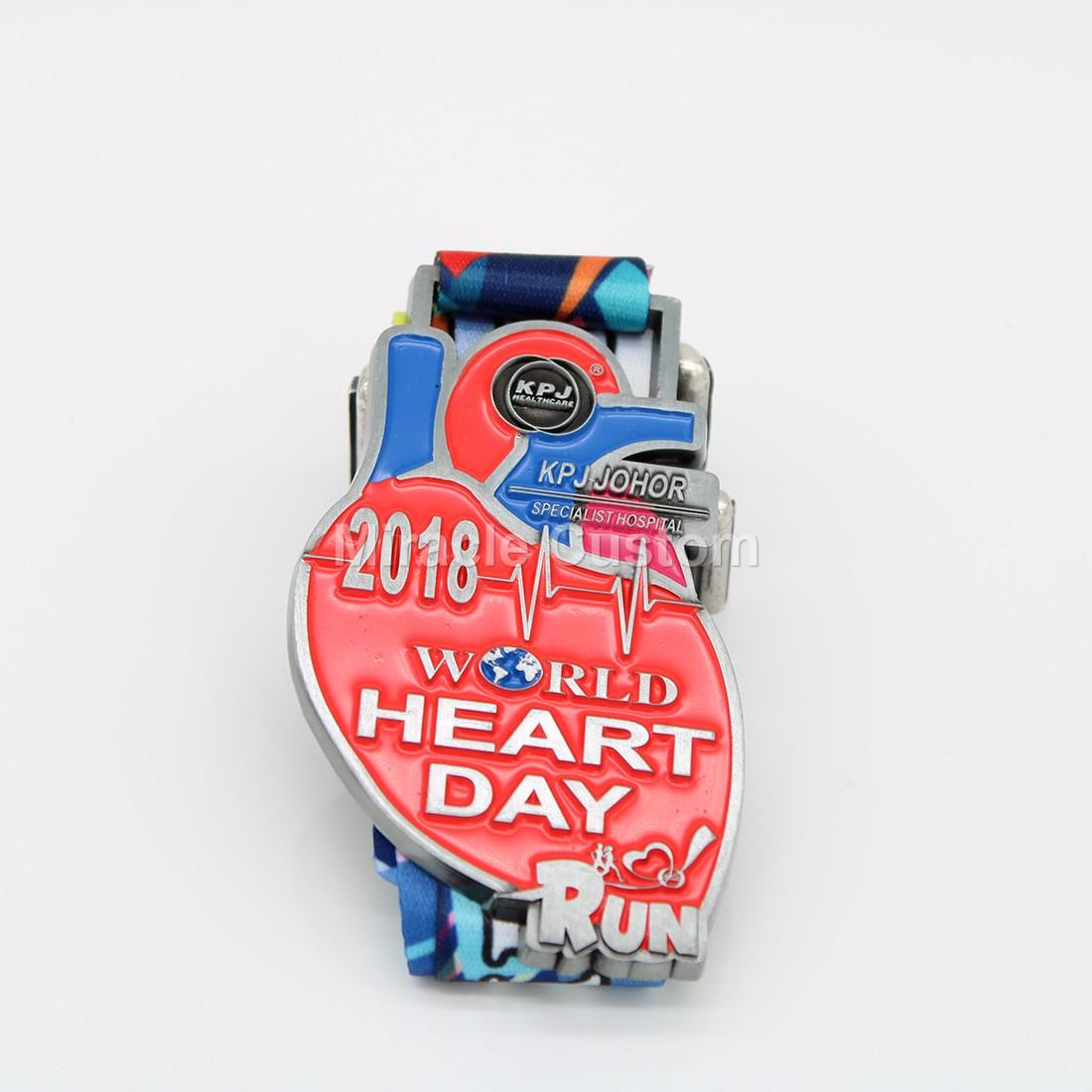 Custom Fun Run Walk Medals