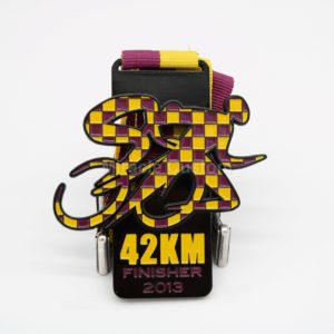 Custom 42KM Finisher Medals