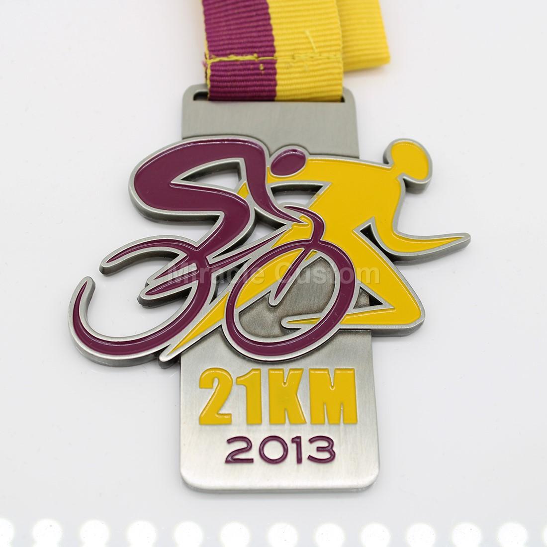 Custom 42KM Finisher Medals