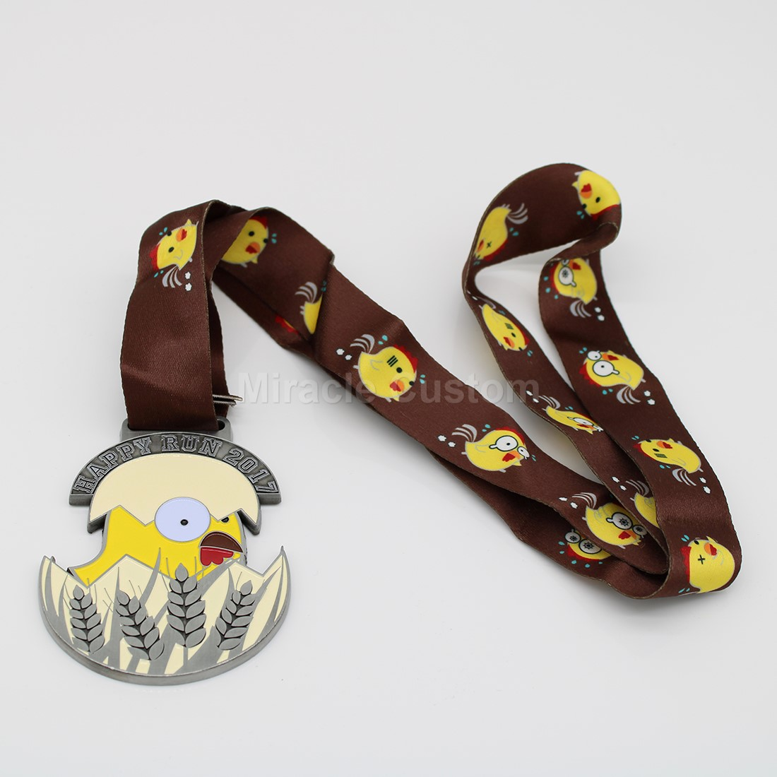 Custom Happy Run Medals