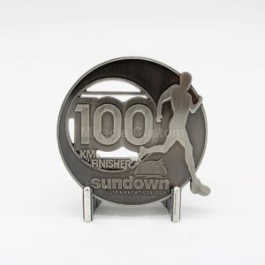 Custom 100KM Finisher Medals