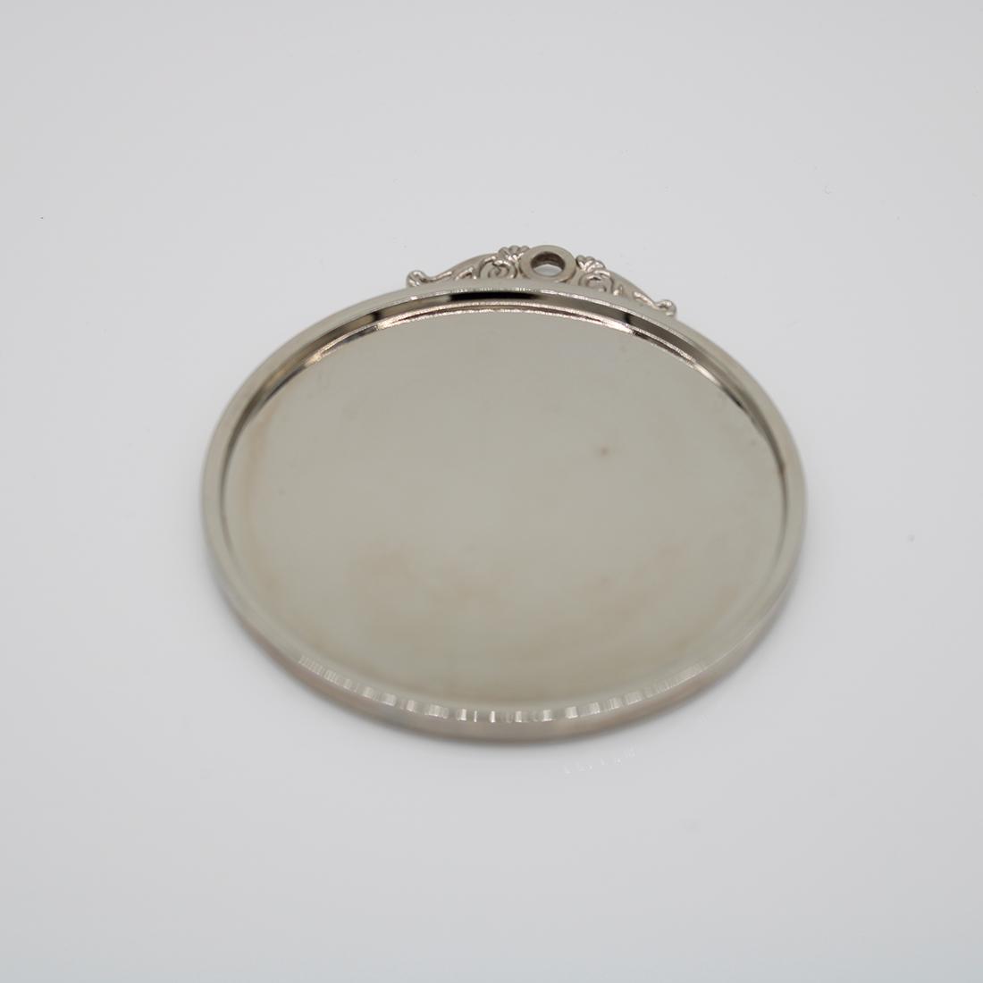 custom shiny nickel blank medals