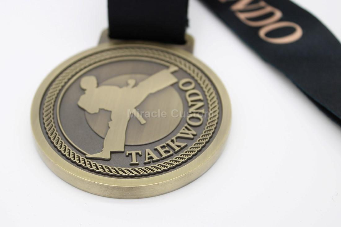 Custom Taekwondo Medals Wholesale
