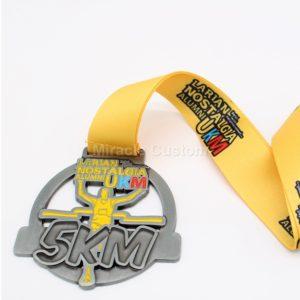 Custom 5K 10K Running Medals