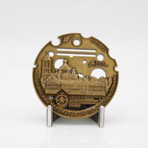 Custom Russia Running Sports Medals