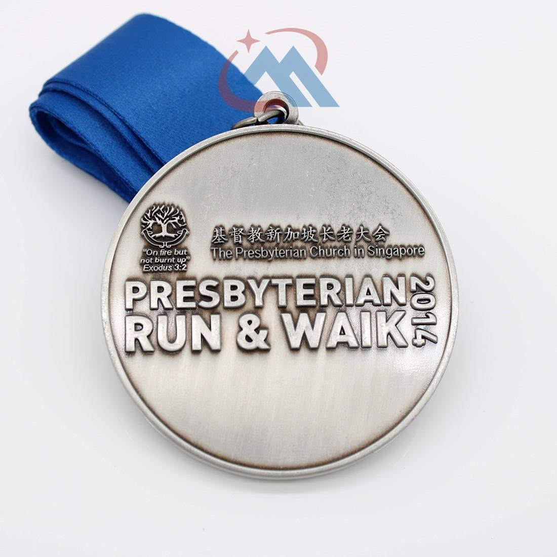 Custom Run Walk Medals