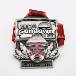 Custom 10KM Finisher Medals