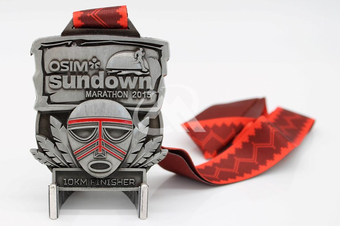 Custom 10KM Finisher Medals