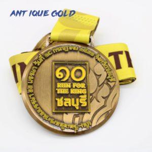custom antique gold medals