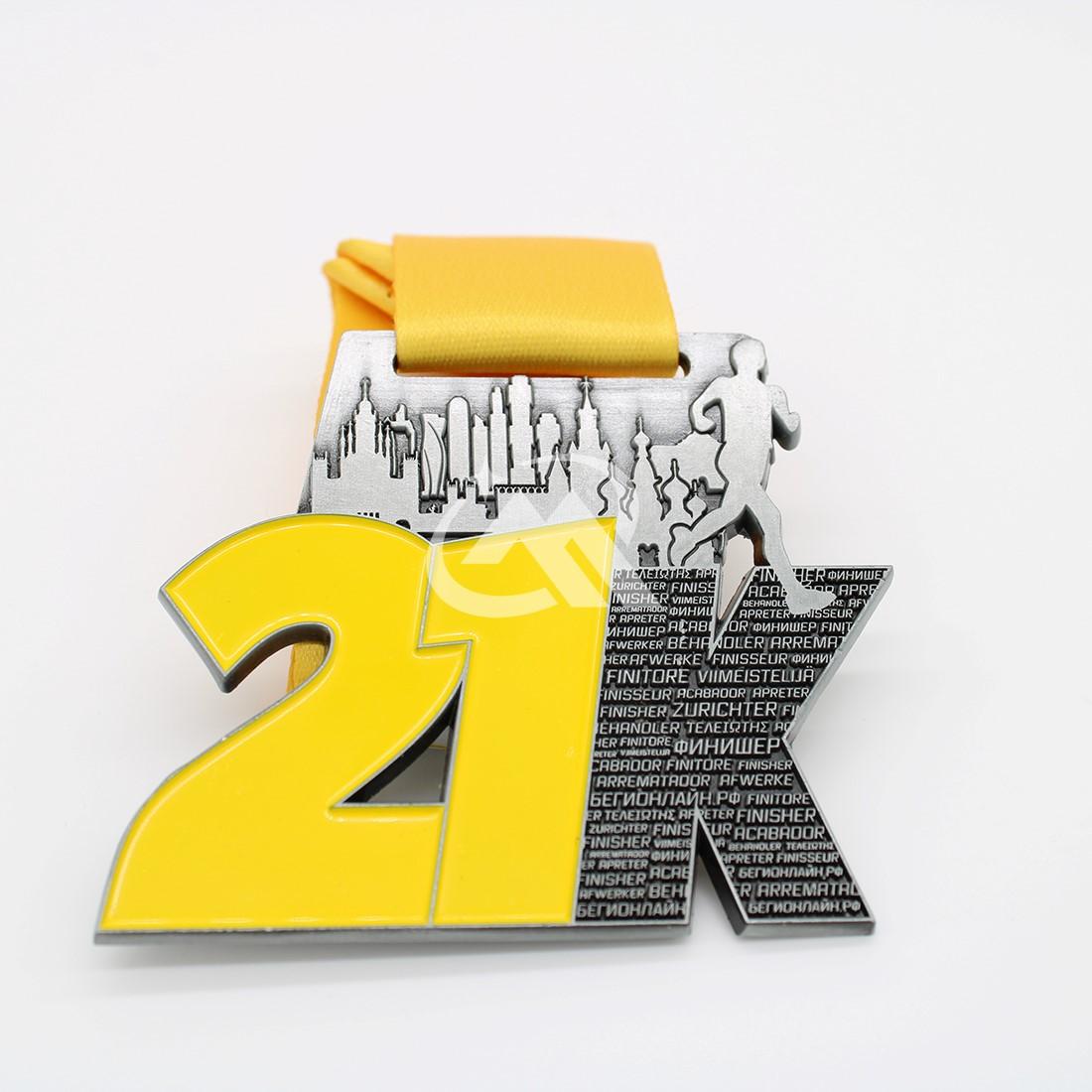 custom 21k medals