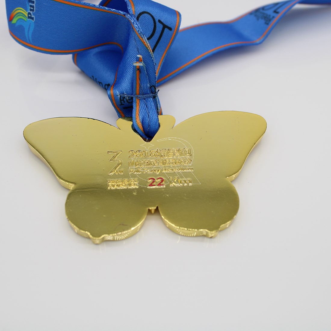 custom 22km medals