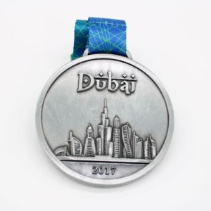 Custom 3D Building Medals