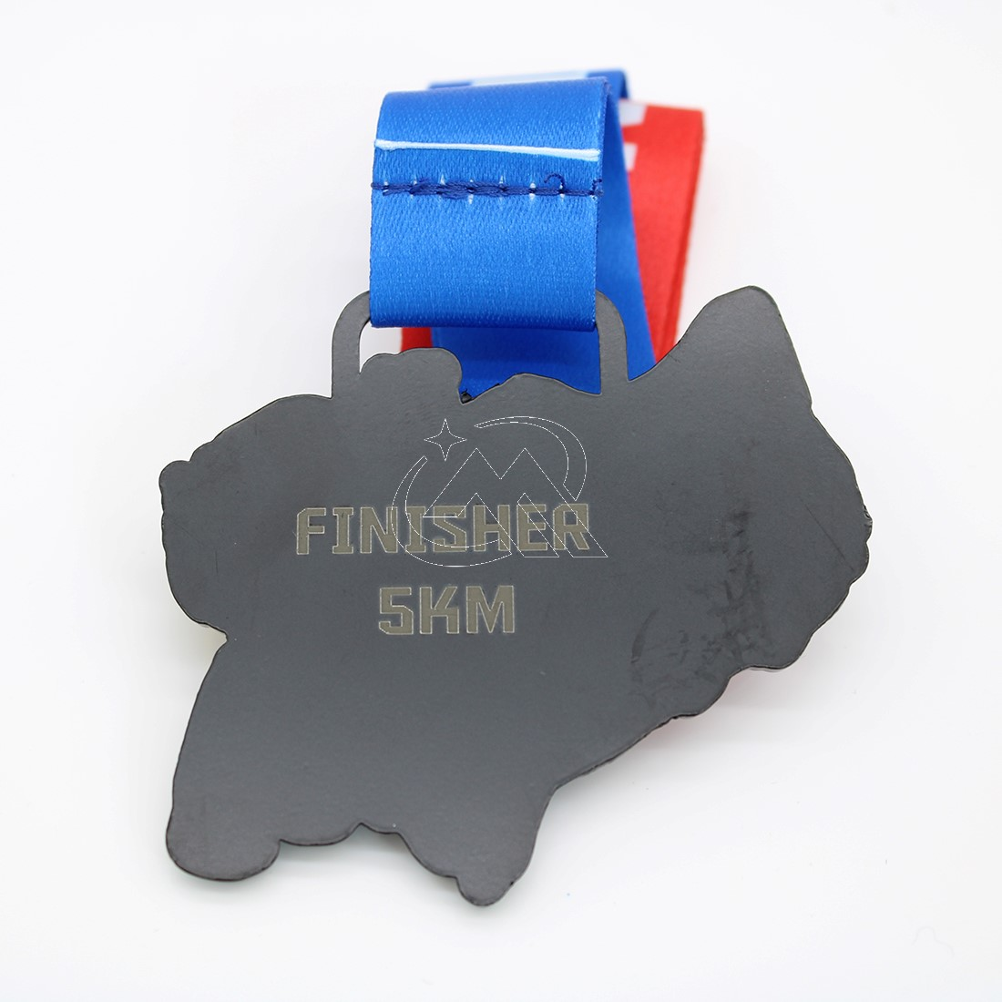 Custom Black Dye Race Medals