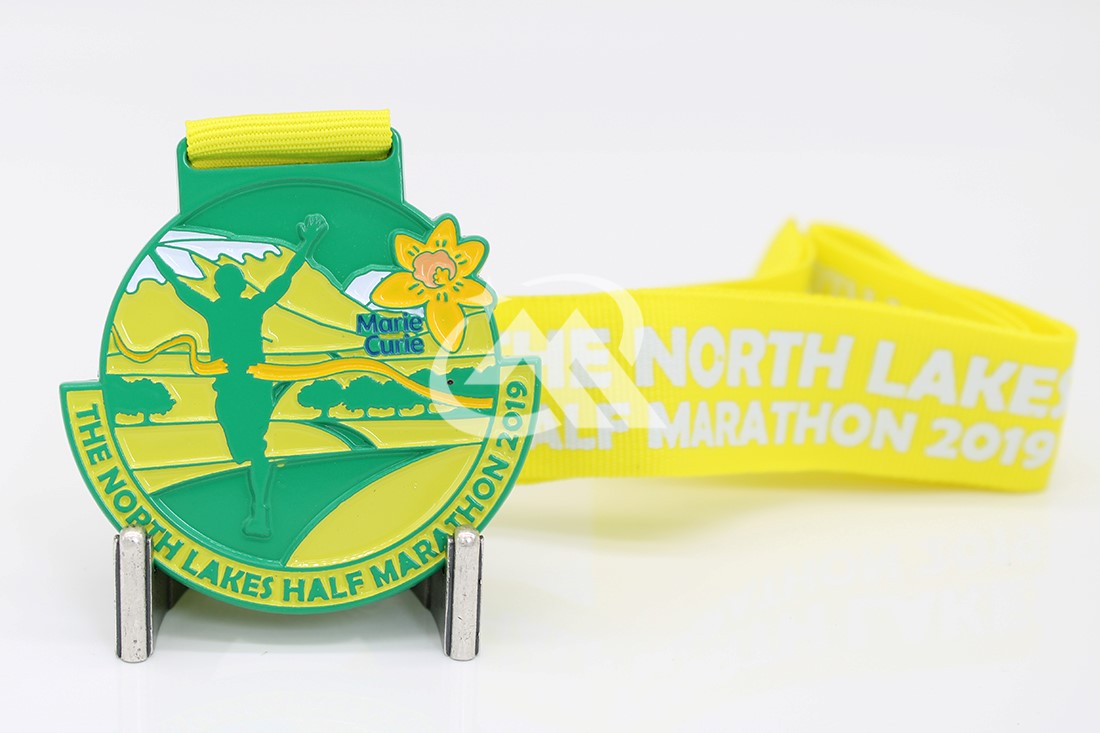 Custom Colour Spray Medals
