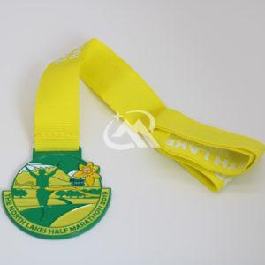 Custom Colour Spray Medals