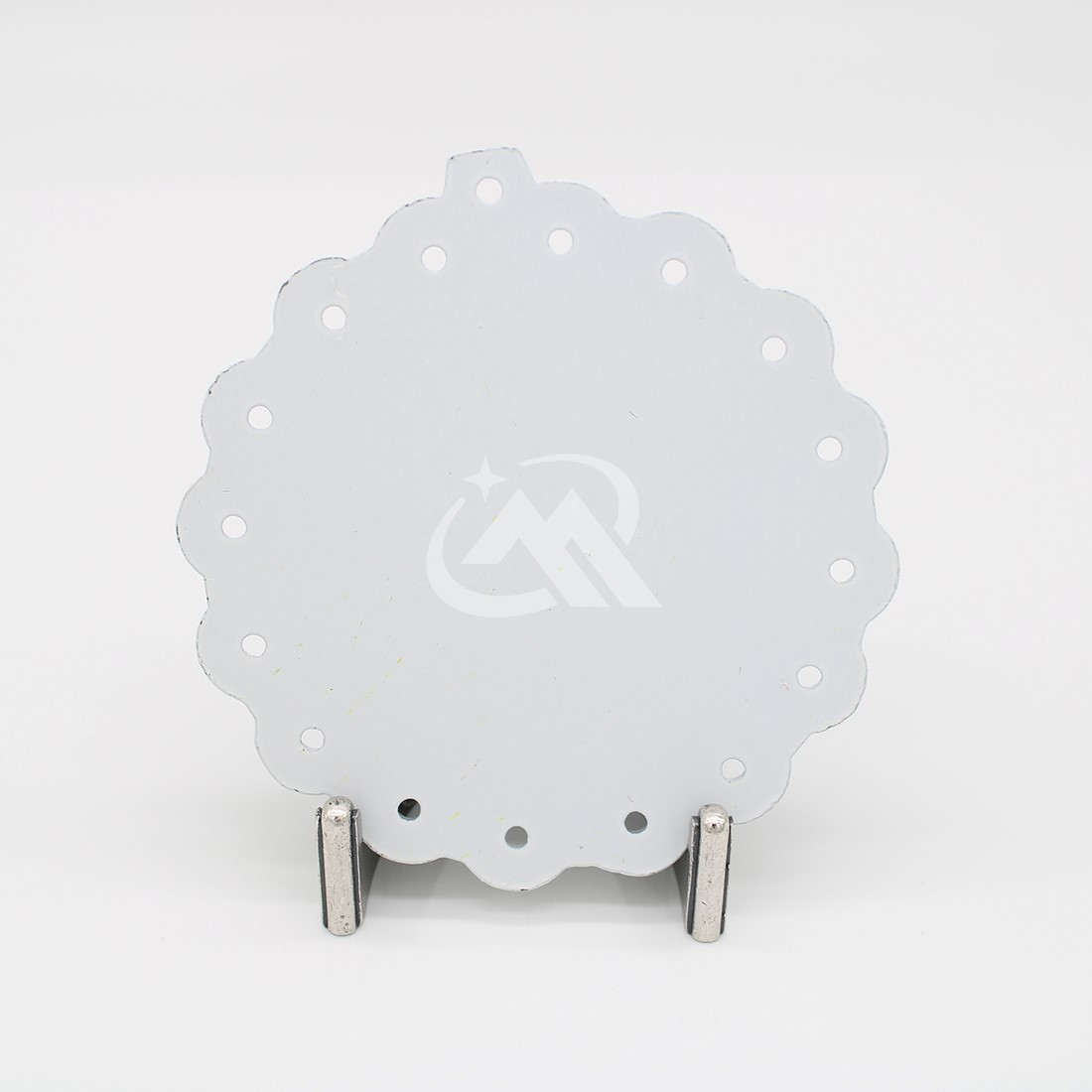 Custom Cycling Medals with Spray paint white color