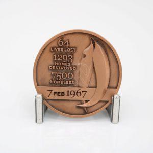 Custom 3D Logo Medallion