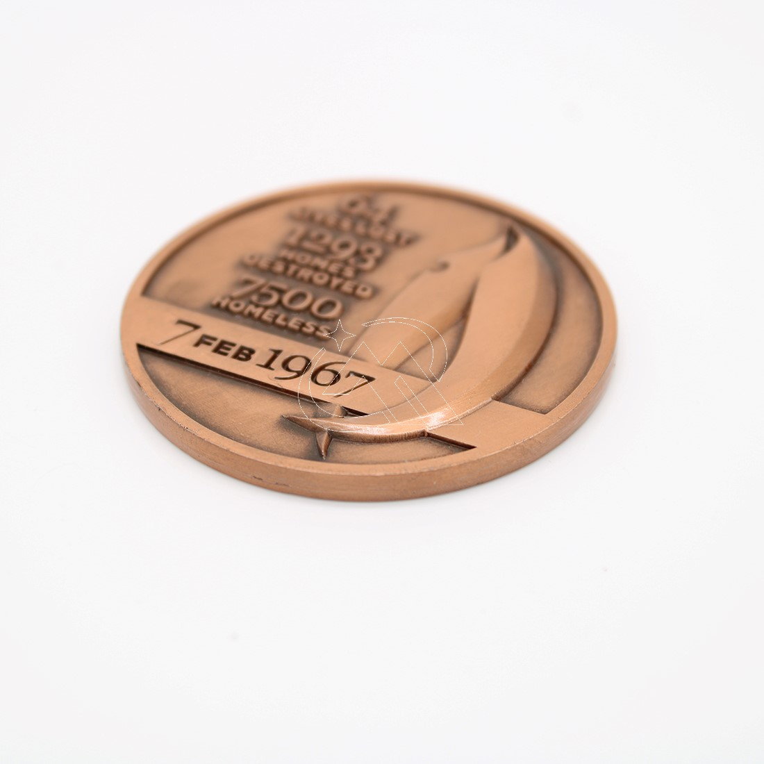 Custom 3D Logo Medallion