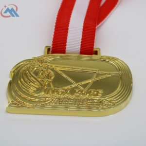 custom sports shiny medals