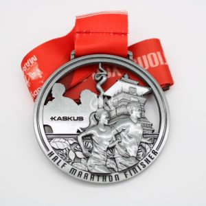 Custom Cut out Marathon Medals