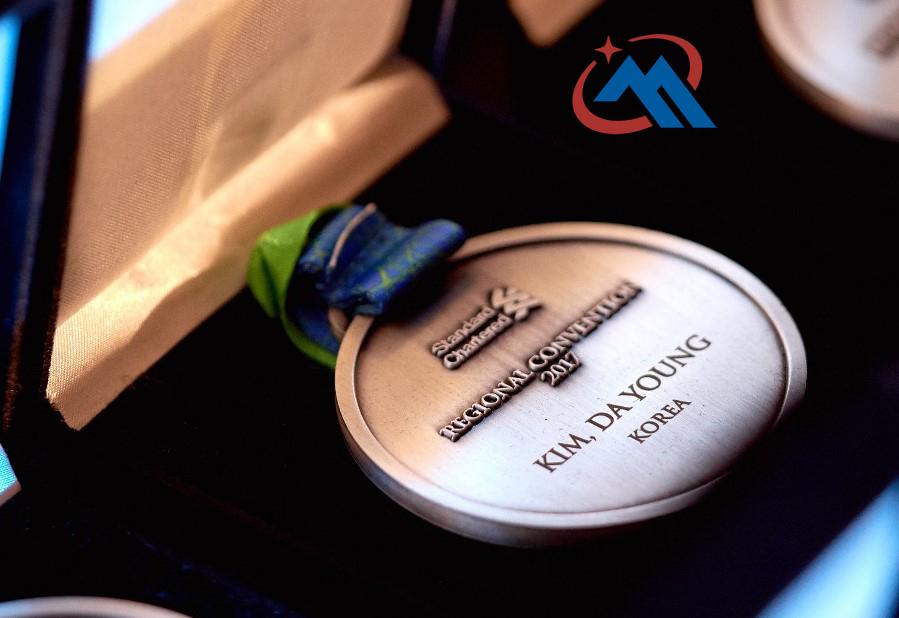 Custom 3D Building Medals anniversary event medals