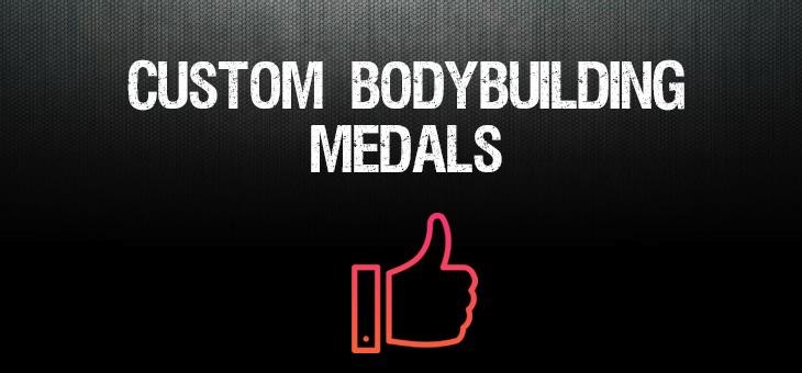 Custom Bodybuilding Medals