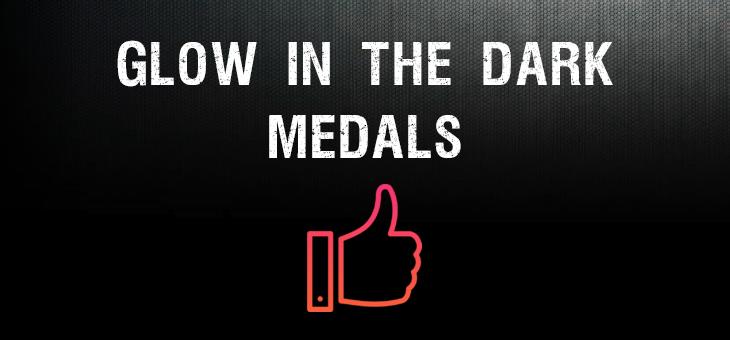 Custom Glow in the Dark Race Medals