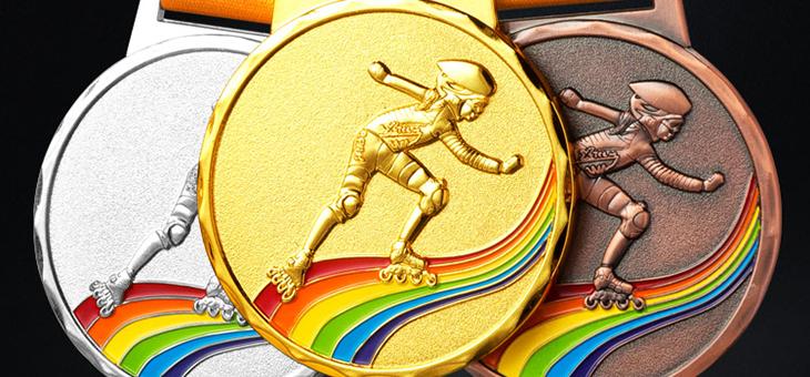 custom skating medals — Custom medals,cheap race medals